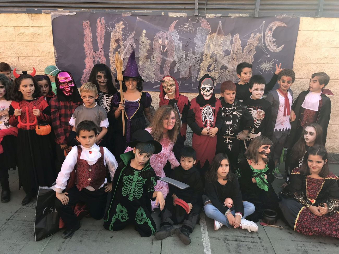 Halloween en el colegio Villadealcorcón